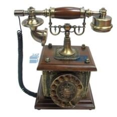 Кнопочный ретро-телефон Амели