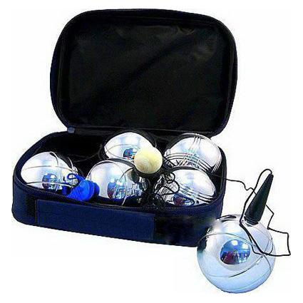 Боча (Петанк) 6 шаров в сумке