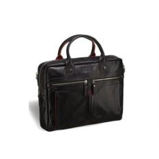Деловая черная сумка Brialdi Stamford
