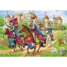 Пазл Рыцари Ravensburger