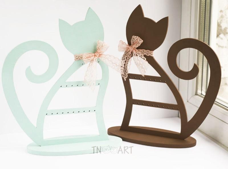 Подставка для украшений Кошечка