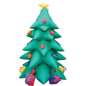 Ёлка надувная с подсветкой от Mister Christmas
