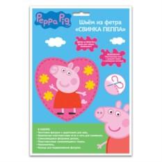 Шьем из фетра «Свинка Пеппа»