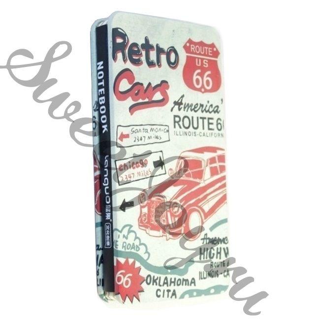 Блокнот Retro Cars