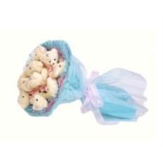 Букет из мягких игрушек Медвежата