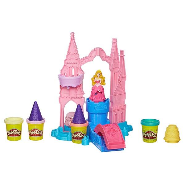 Игровой набор с пластилином Play-Doh Чудесный замок Авроры