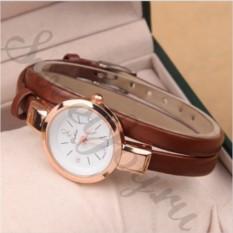 Коричевые женские наручные часы Yuhao
