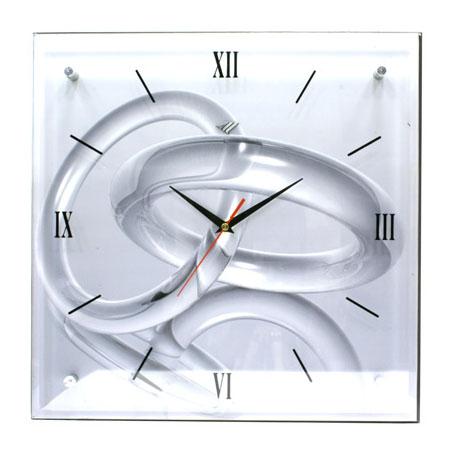 Часы-картина под стеклом