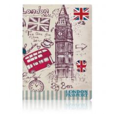 Обложка для паспорта London