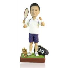 Кукла-шарж по фото «Теннис большой – это хорошо»