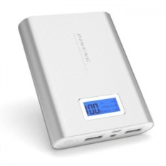 Серебристый внешний аккумулятор Pineng PN-988 10000mAh