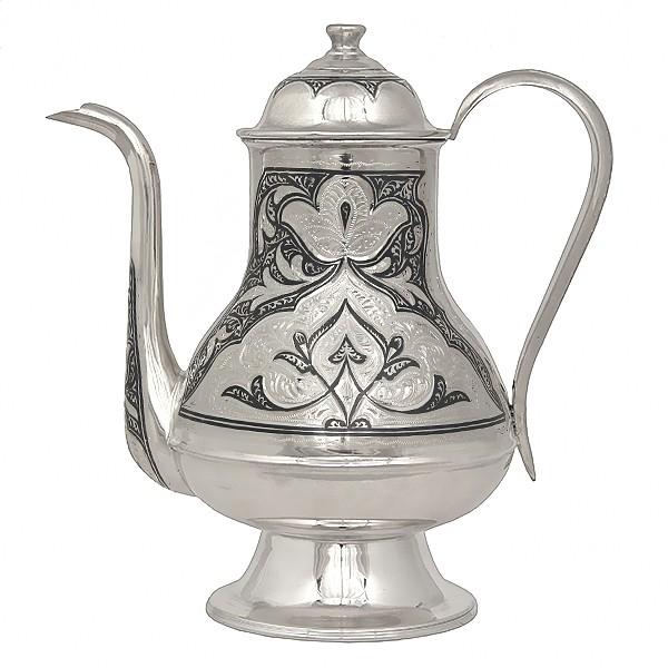 Чайник из серебра