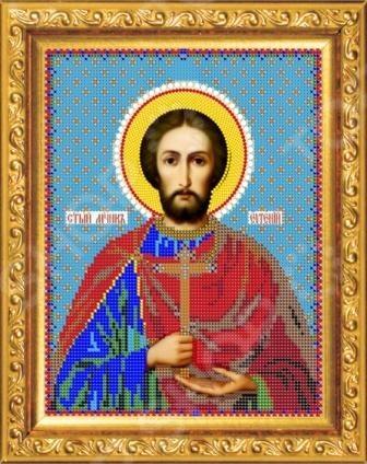 Набор для вышивания бисером «Святой Евгений»