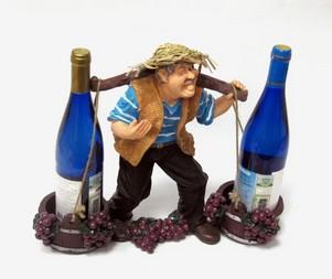Подставка для вина «Фермер с коромыслом»