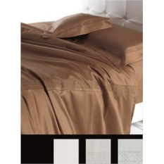 Постельное белье Cesare Paciotti Vienna коричневого цвета