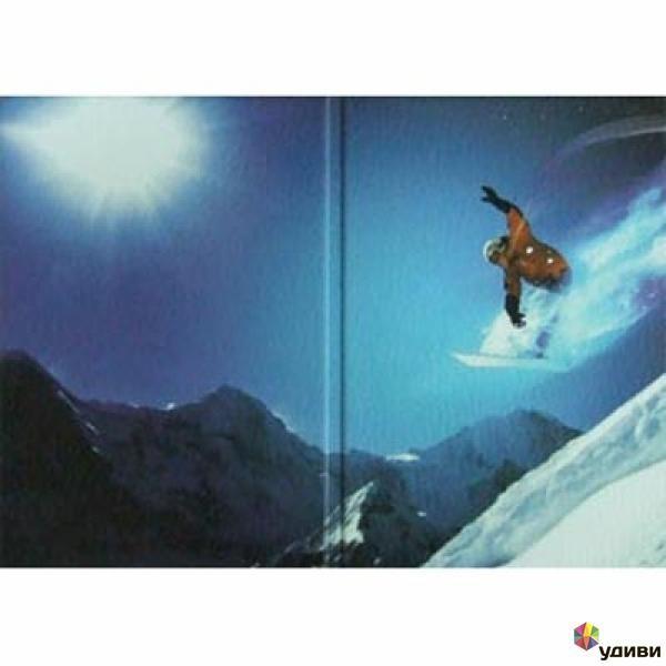 Обложка для паспорта Сноубордист