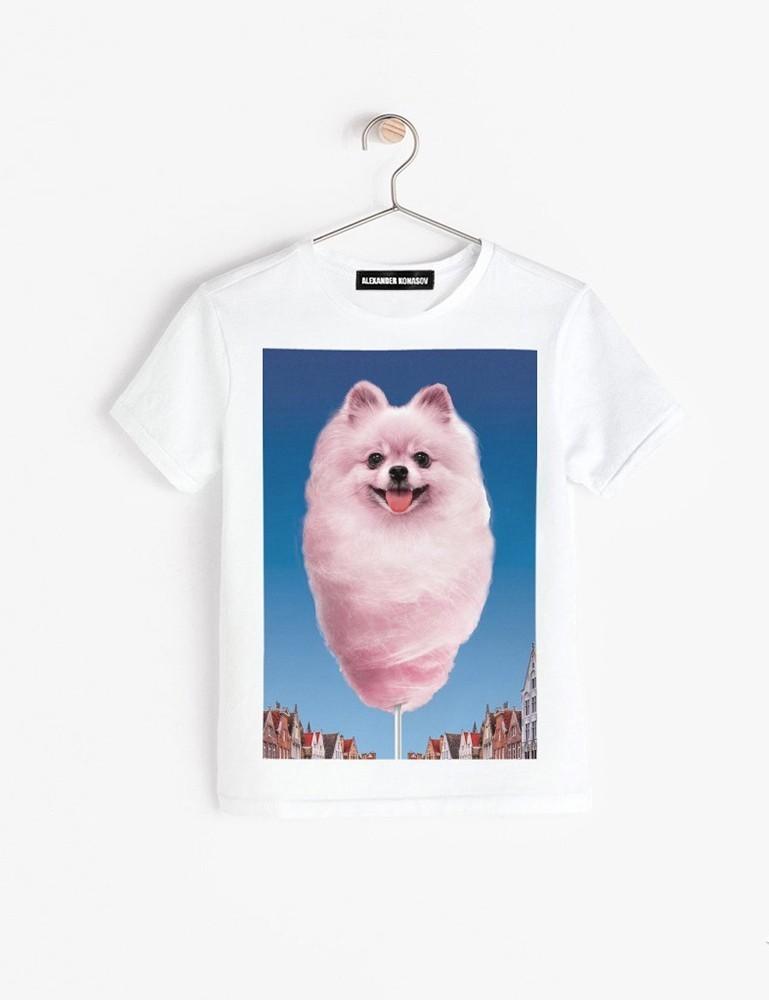 Детская футболка «Cахарный шпиц»