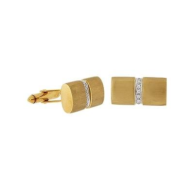 Запонки с бриллиантами  TTF Luxary