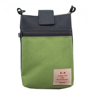 Кошелек для путешествия Smart Pouch / Green-Charcoal