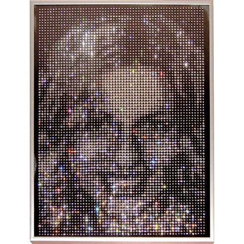 Портрет на заказ из кристаллов Swarovski