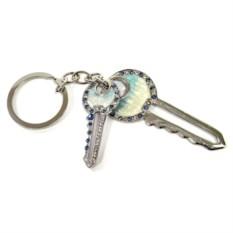 Брелок со стразами Ключ