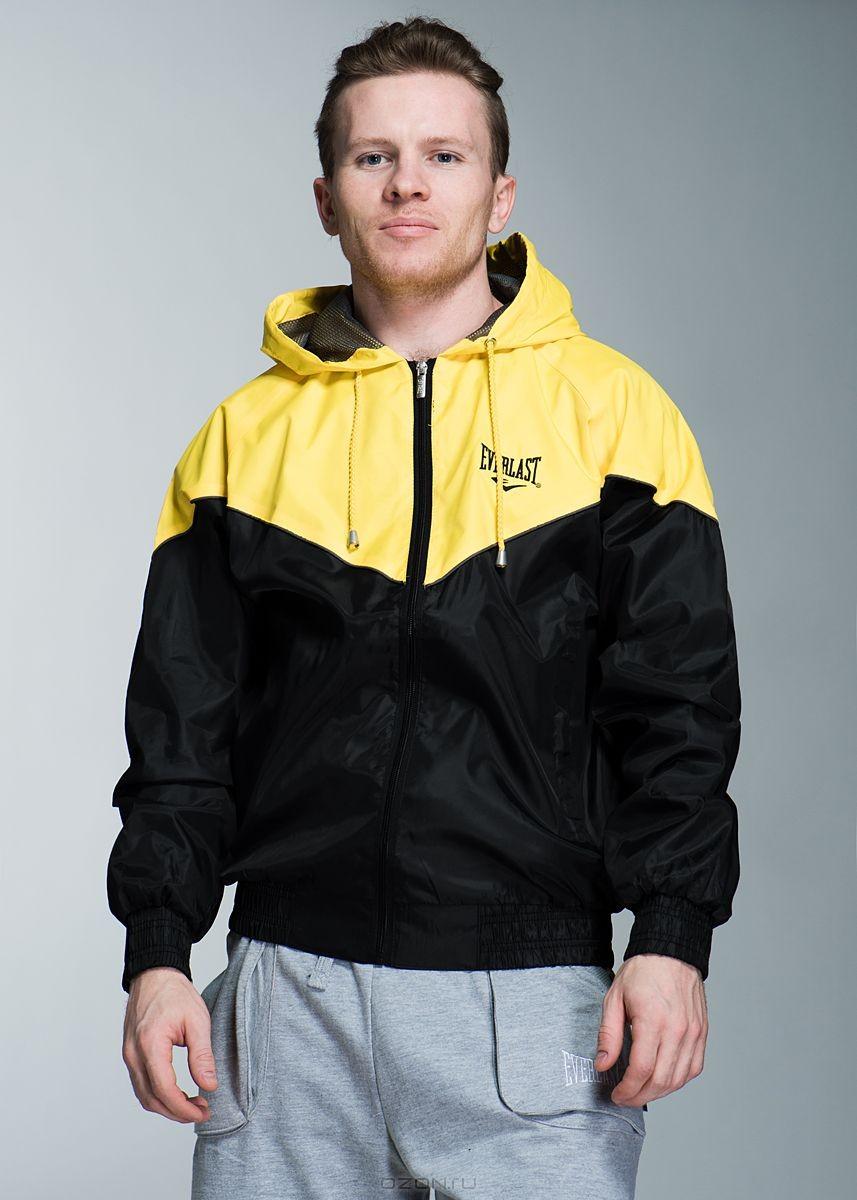 Куртка, черно-желтая. Размер: 54/56