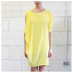 Платье Афина желтое