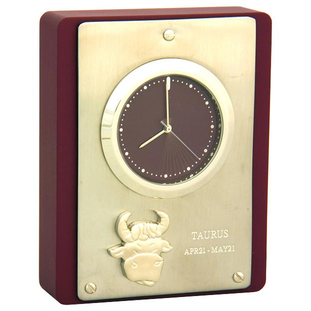 Часы настольные «Телец»