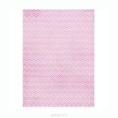 Рисовая бумага для декупажа Craft Premier Розовый зиг-заг