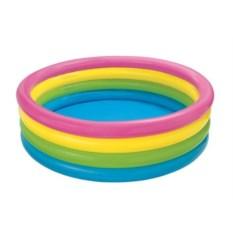 Детский бассейн Цветные кольца Intex