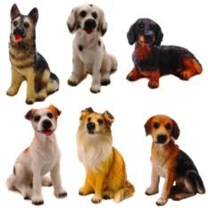 Набор из 6-ти декоративных фигурок Собака