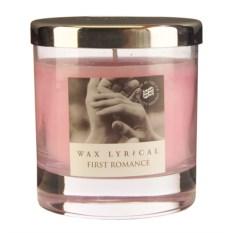 Ароматическая свеча Первая любовь в стекле