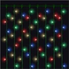 Светодиодная зеленая гирлянда «Дождь» Mister Christmas