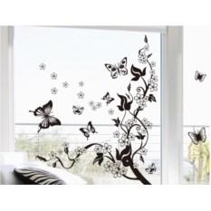 Виниловый стикер Бабочки