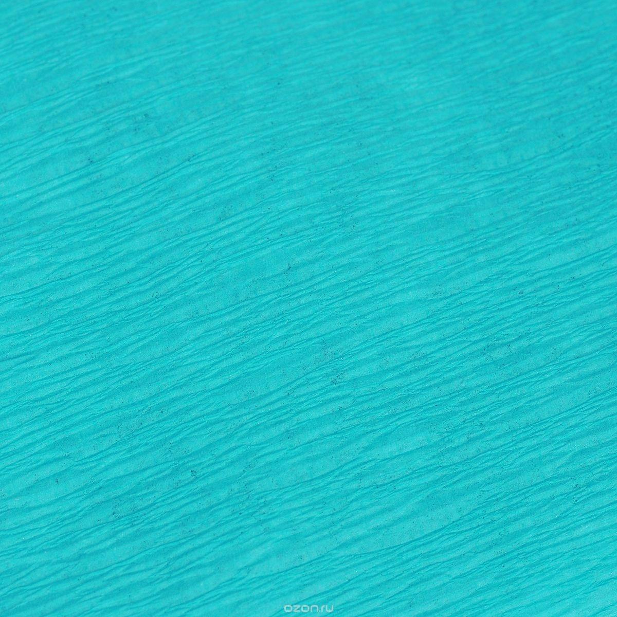 Гофрированная бумага Koh-I-Noor, бирюзовая (200x50 см)