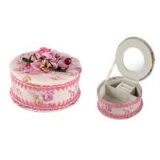 Шкатулка для ювелирных украшений Розовый шарм