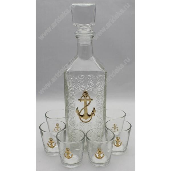 Набор для крепких напитков ВМФ