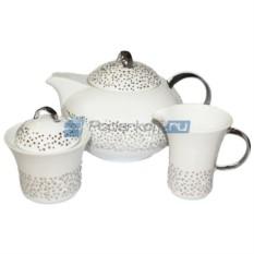 Чайный сервиз Cвадьба с кристаллами Swarovski