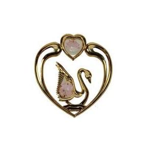 Фигурка декоративная «Лебедь» на присоске 8*9 см