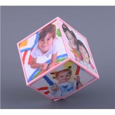 Фоторамка Вращающийся куб на 6 фото