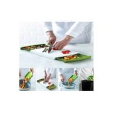 Доска-трансформер для нарезки продуктов Chop n'clear
