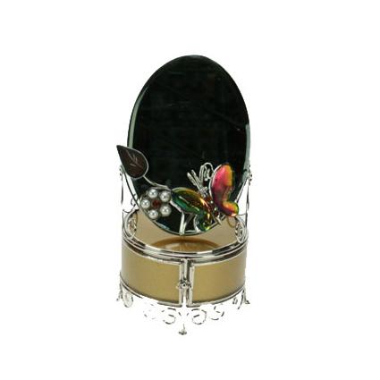 Шкатулка с зеркалом «Бабочка-хамелеон»
