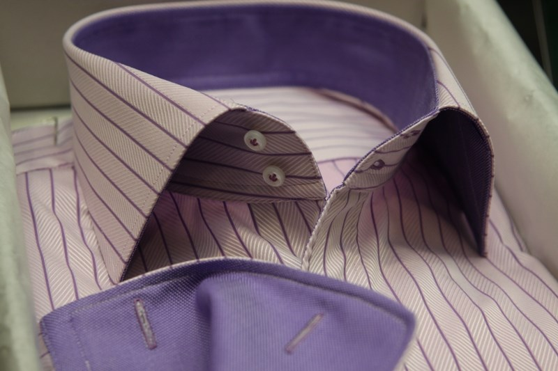 Сертификат на индивидуальный пошив сорочки Thomas Mason