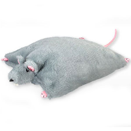 Подушка-игрушка «Мышь серая»