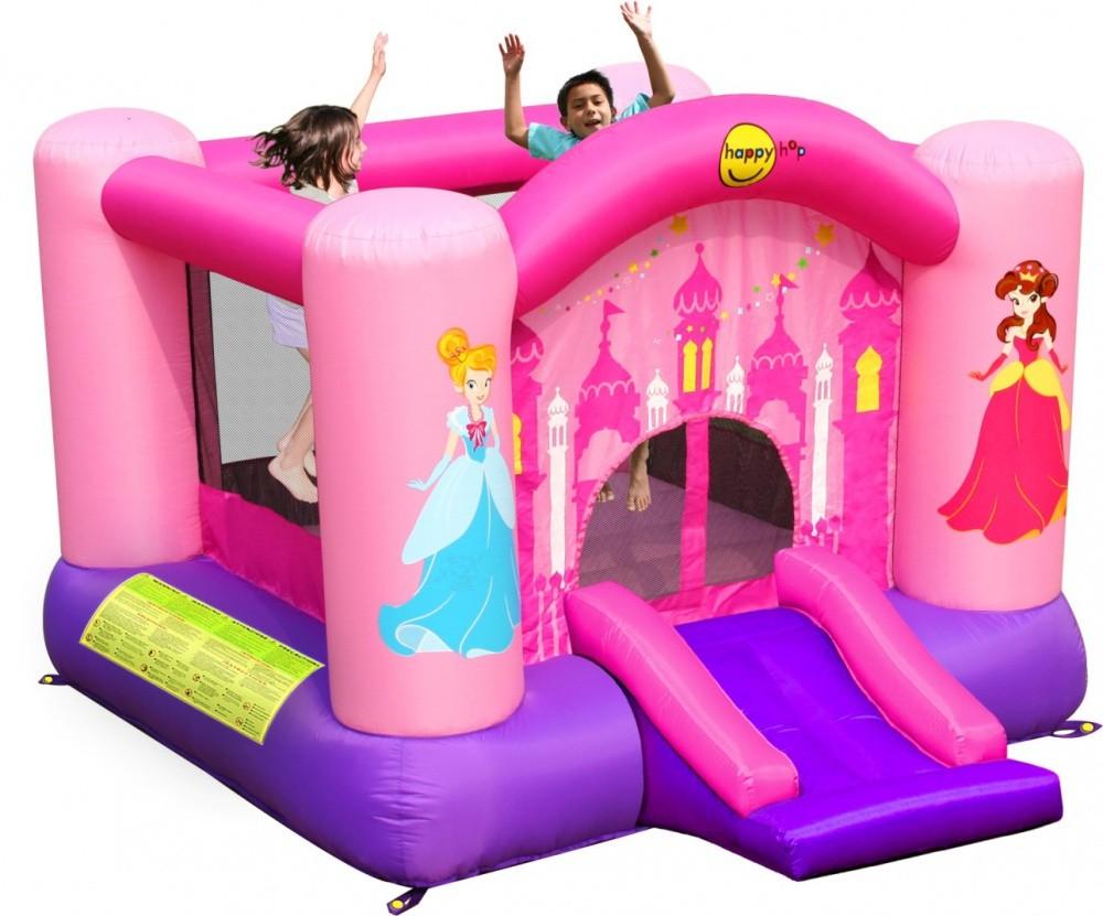 Детский надувной батут Веселая Принцесса HAPPY HOP 9201P