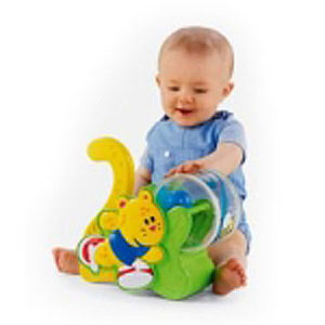 Гимнастика малыша — «толкаем и играем» каталка