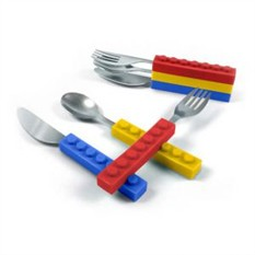 Столовый набор Лего Snack&Stack