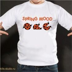 Футболка Spring mood
