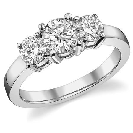 Помолвочное кольцо Helen 1.5 карата