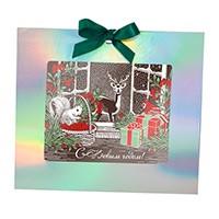 Шоколадная открытка Сказочный лес